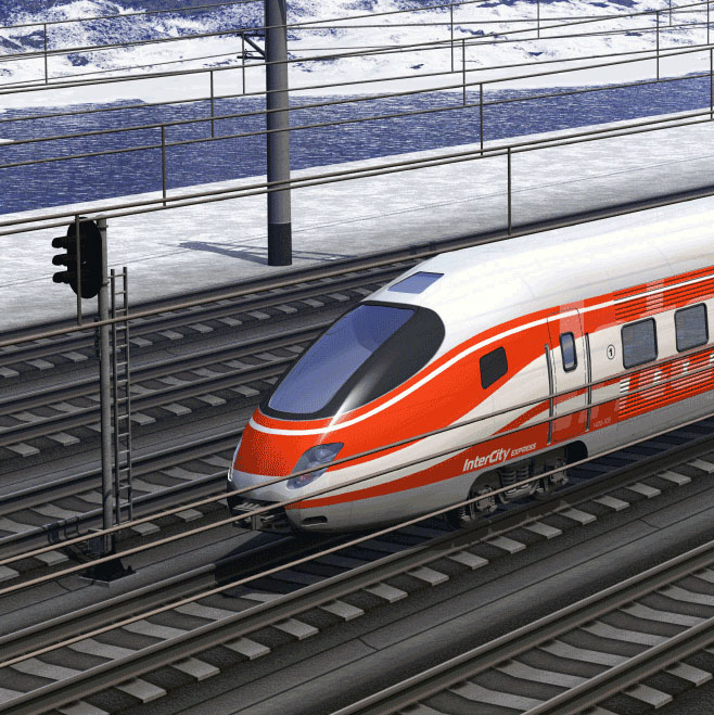 voltage and current sensors for rail locomotives
